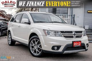 Used 2012 Dodge Journey R/T Rallye  AWD | 7 PASS | LEATHER | DVD | NAVI ++ for sale in Hamilton, ON