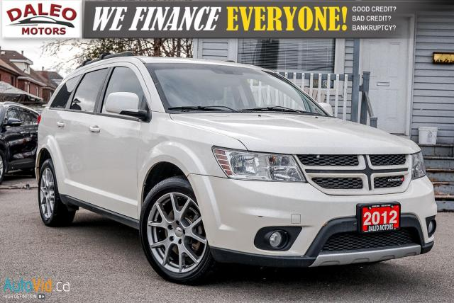 2012 Dodge Journey R/T Rallye  AWD | 7 PASS | LEATHER | DVD | NAVI ++