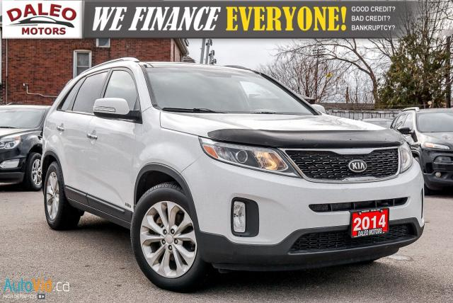 2014 Kia Sorento EX AWD V6 | LEATHER HTD SEATS | PANO ROOF