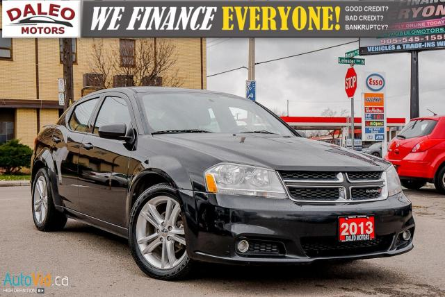 2013 Dodge Avenger SXT | HEATED SEATS | BLACK ON BLACK
