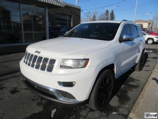 Used 2014 Jeep Grand Cherokee Summit for sale in Varennes, QC