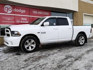 Used 2014 RAM 1500 Sport 4x4 Crew Cab / Sunroof / Back Up Camera for sale in Edmonton, AB