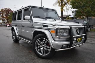 Used 2005 Mercedes-Benz G-Class G55 AMG - NO ACCIDENTS - WINTER BLOWOUT SALE for sale in Oakville, ON