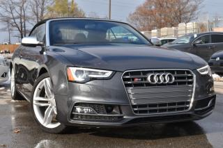 Used 2016 Audi S5 TECHNIK - ADAPTIVE CRUISE - WINTER BLOWOUT SALE for sale in Oakville, ON