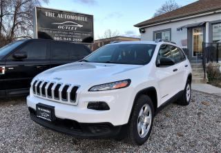 Used 2015 Jeep Cherokee Sport NO ACCIDENT for sale in Mississauga, ON