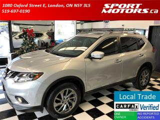 Used 2015 Nissan Rogue SL AWD+Xenons+360 Camera+Blind Spot+GPS+PWR Gate for sale in London, ON