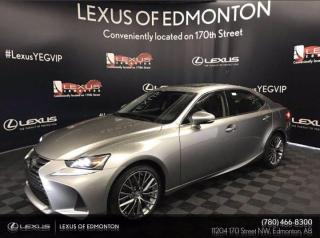 New 2020 Lexus IS 300 PREMIUM PACKAGE PACKAGE for sale in Edmonton, AB