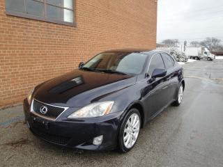Used 2008 Lexus IS 250 AWD/LEATHER/SUNROOF for sale in Oakville, ON
