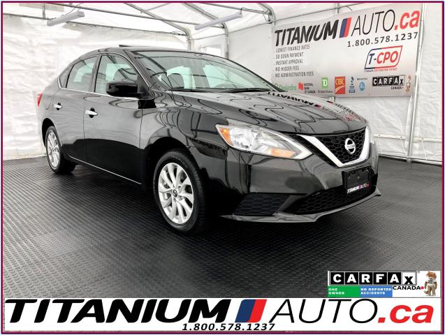 2016 Nissan Sentra SV+Camera+Sunroof+Heated Seats+Push Button Start+