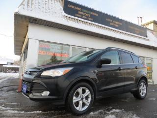 Used 2016 Ford Escape 4 WHEEL DRIVE, BACKUP CAMERA,OVERSIZED SCREEN for sale in Mississauga, ON