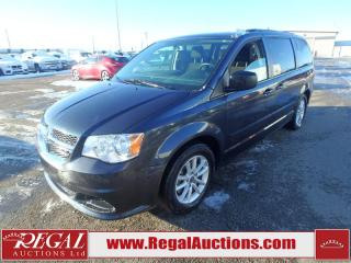 Used 2014 Dodge Grand Caravan SXT Wagon 3.6L for sale in Calgary, AB