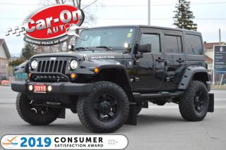 Used 2015 Jeep Wrangler Unlimited Rubicon 4X4 NAV HTD SEATS for sale in Ottawa, ON