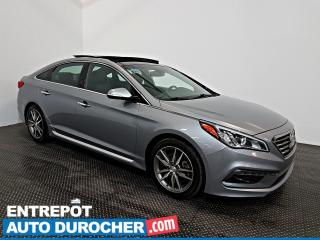 Used 2016 Hyundai Sonata 2.0T Sport Ultimate NAVIGATION - Toit Ouvrant  A/C for sale in Laval, QC