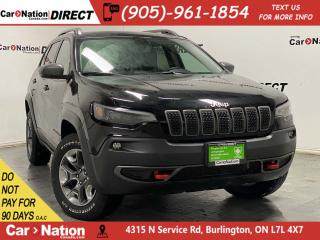 Used 2019 Jeep Cherokee Trailhawk Elite| 4X4| LEATHER| PANO ROOF| for sale in Burlington, ON