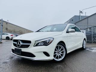 Used 2018 Mercedes-Benz CLA250  NAVIGATION PANORAMIC BLIND SPOTS BACKUP CAMERA & MUCH MORE! for sale in Brampton, ON