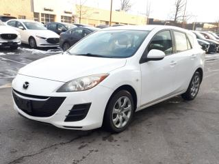 Used 2010 Mazda MAZDA3 4dr HB Sport GX, manual transmission, air conditioning for sale in Halton Hills, ON