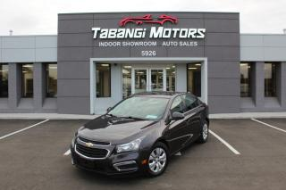 Used 2015 Chevrolet Cruze NO ACCIDENTS | BIG SCREEN | REAR CAM | REMOTE STARTER | BT for sale in Mississauga, ON