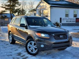 Used 2011 Hyundai Santa Fe NoAccidents AWD Sunroof Bluetooth Power Leather Heated Seats for sale in Sutton, ON