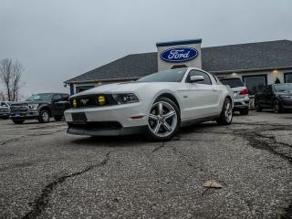Used 2012 Ford Mustang GT- 5.0L V8- HEATED SEATS- BLUETOOTH for sale in Essex, ON
