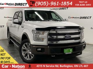 Used 2017 Ford F-150 Lariat| 4X4| LEATHER| NAVI| PANO ROOF| for sale in Burlington, ON