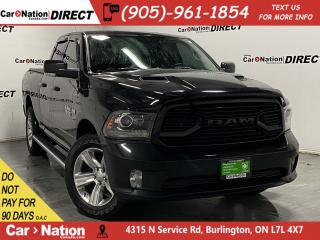 Used 2018 RAM 1500 Sport| 4X4| TONNEAU COVER|  LOCAL TRADE| for sale in Burlington, ON