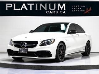 Used 2017 Mercedes-Benz C-Class C63 S, AMG, S-MODEL, CARBON INT, NAV, BLIND SPOT for sale in Toronto, ON