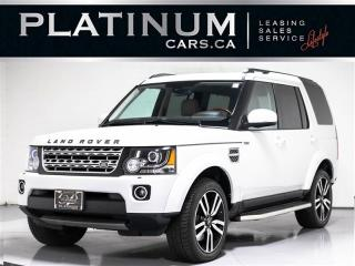 Used 2016 Land Rover LR4 HSE LUXURY, 7-PASSENGER, NAV, PANO for sale in Toronto, ON