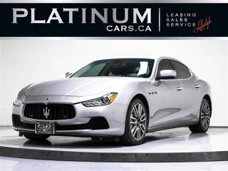 Used 2014 Maserati Ghibli S Q4 AWD, 3.0L V6, NAV, CAM, PADDLE SHIFTS for sale in Toronto, ON