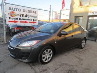 Used 2010 Mazda MAZDA3 Berline à 4 portes, boîte automatique Ma for sale in Montréal, QC