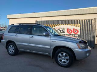 Used 2002 Toyota Highlander LIMITED  for sale in Laval, QC