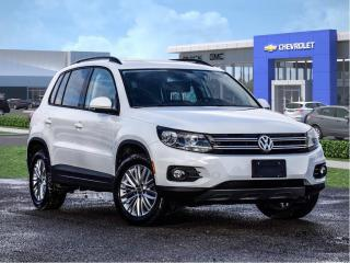 Used 2016 Volkswagen Tiguan Black for sale in Markham, ON