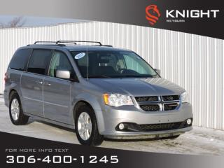 Used 2017 Dodge Grand Caravan Crew | Low KM | 3.6L V6 | 7-Passenger Stow n' Go Seating | Air Conditioning | Cruise Control for sale in Weyburn, SK