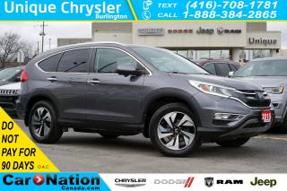 Used 2015 Honda CR-V TOURING| AWD| NAV| LEATHER| SUNROOF| REAR CAM for sale in Burlington, ON