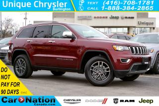 Used 2020 Jeep Grand Cherokee LIMITED| LUXURY GROUP| TRAILER TOW GROUP & MORE for sale in Burlington, ON