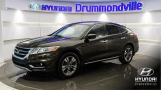 Used 2014 Honda Accord Crosstour EX-L + GARANTIE + NAVI + TOIT + MAGS + for sale in Drummondville, QC