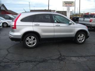 Used 2010 Honda CR-V EX-L  4WD   VERY NICE SUV for sale in Fonthill, ON
