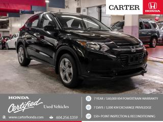 Used 2017 Honda HR-V LX + CERTIFIED + 7 YEAR/160000KM for sale in Vancouver, BC