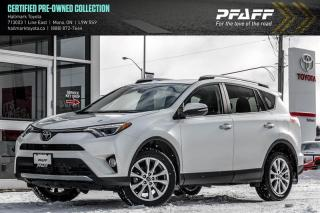 Used 2017 Toyota RAV4 AWD LIMITED for sale in Orangeville, ON