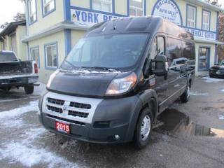 Used 2015 RAM 3500 ProMaster 1-TON CARGO MOVING 3 PASSENGER 3.6L - V6.. HIGH ROOF.. 159