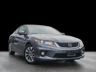 Used 2013 Honda Accord Cpe EX-L w/Nav IManual I Loaded IClean carfax for sale in Toronto, ON