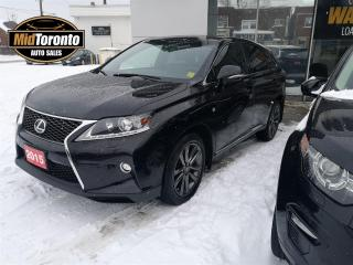 Used 2015 Lexus RX 350 F SPORT | Navigation | Leather | Power Sunroof | Ecxcellent Condition for sale in North York, ON