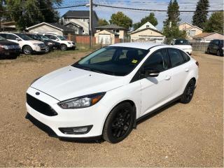 Used 2015 Ford Focus SE SEDAN AUTO HEATED SEATS HEATED STEERING WHEEL for sale in Fort Saskatchewan, AB