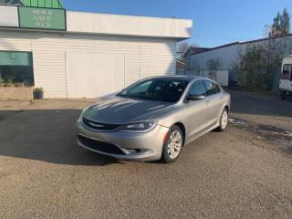 Used 2015 Chrysler 200 Limited NICE CAR ! FINANCE AVAILABLE OAC ! for sale in Fort Saskatchewan, AB