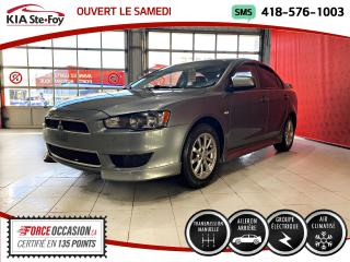 Used 2012 Mitsubishi Lancer SE *MANUEL *CRUISE *AIR CLIMATISÉ for sale in Québec, QC