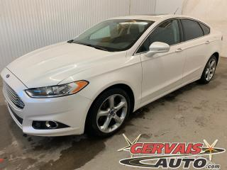 Used 2014 Ford Fusion SE Ecoboost Cuir Toit Ouvrant MAGS Caméra de recul for sale in Trois-Rivières, QC