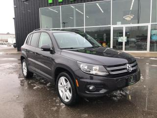 Used 2016 Volkswagen Tiguan Comfortline, One Owner, Leather for sale in Ingersoll, ON