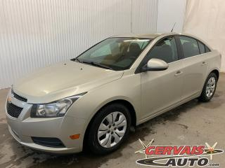 Used 2013 Chevrolet Cruze LT Turbo A/C Bluetooth for sale in Trois-Rivières, QC