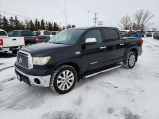 Used 2011 Toyota Tundra Platinum Limited Crew Max 4x4 Navi Rear Cam for sale in Scarborough, ON