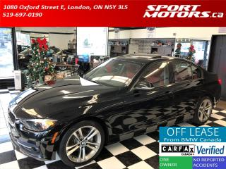 Used 2016 BMW 3 Series 320i xDrive+GPS+Camera+Red Leather+Roof+New Brakes for sale in London, ON