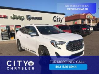 Used 2019 GMC Terrain Denali All Wheel Drive for sale in Medicine Hat, AB